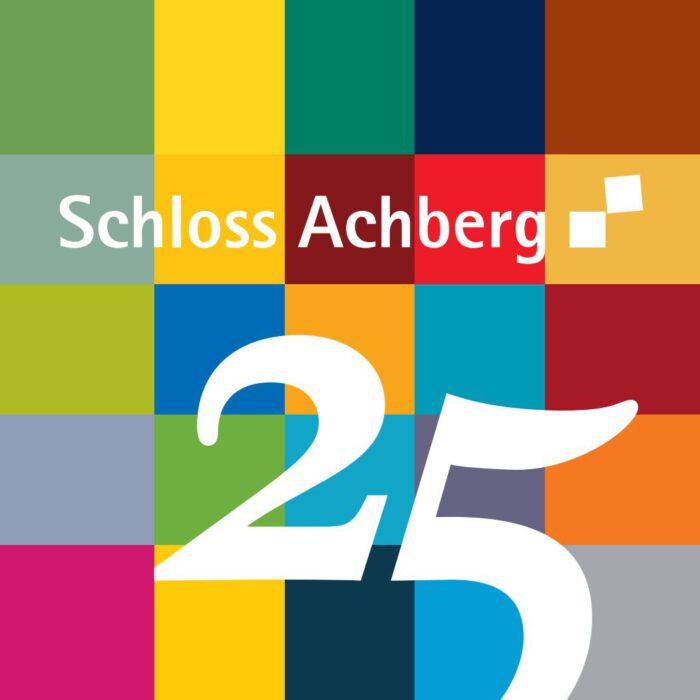 Logo 25 Jahre Schloss Achberg