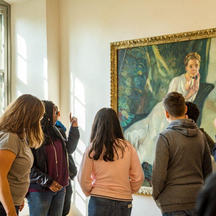 Ausstellungsführung für Jugendliche | Foto Erika Duerr
