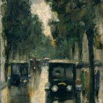 Lesser Ury, Tiergartenstraße, um 1920