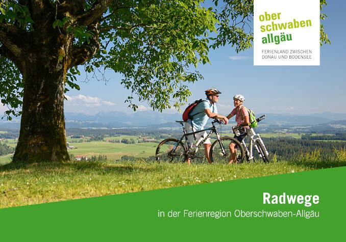 Prospekt Radfernwege in Oberschwaben