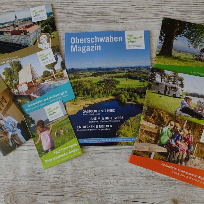 Prospekmittelbestellung   Foto Oberschwaben Tourismus GmbH