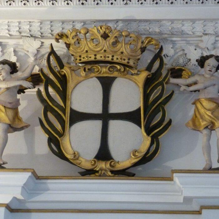 Wappen des Deutschen Orden im Rittersaal