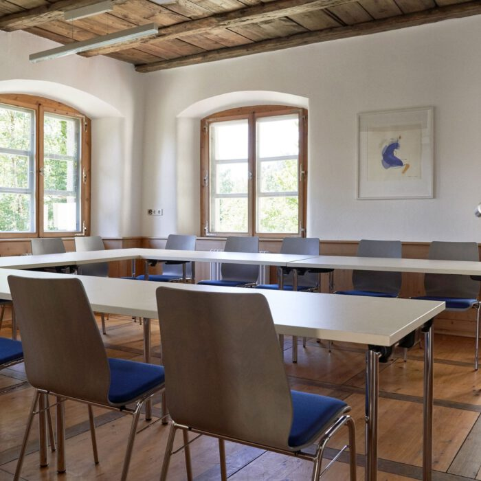 Amtshaus, Blick in den Seminarraum I   Foto Anja Koehler