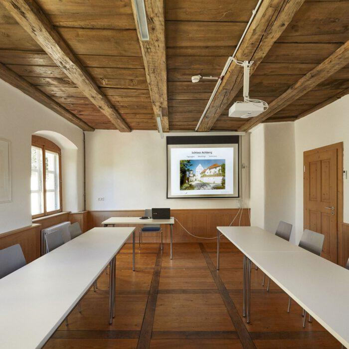 Amtshaus, Seminarraum I mit Tagungstechnik | Foto Anja Koehler