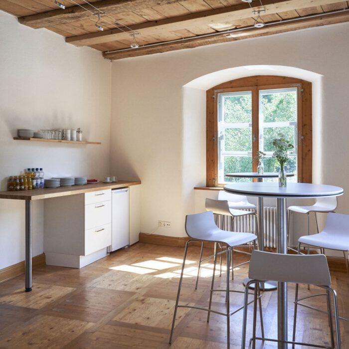 Amtshaus, Teeküche für die Seminarräume   Foto Anja Koehler