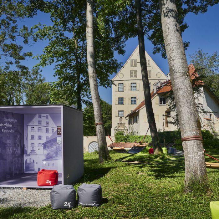 Geschichte erfahren, Schlossgarten 2020   Foto Anja Koehler