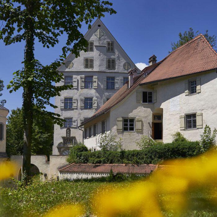 Ferienwohnungen, Blick auf das Amtshaus (rechts) | Foto Anja Koehler