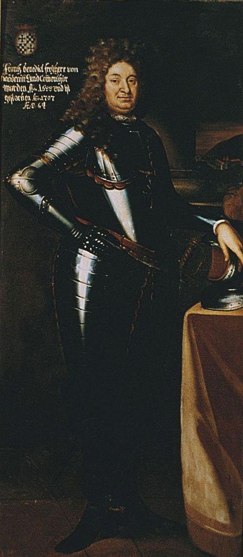 Landkomtur Franz Benedikt Freiherr von Baden, Gemälde, Privatbesitz, Foto Eugen E. Schneider