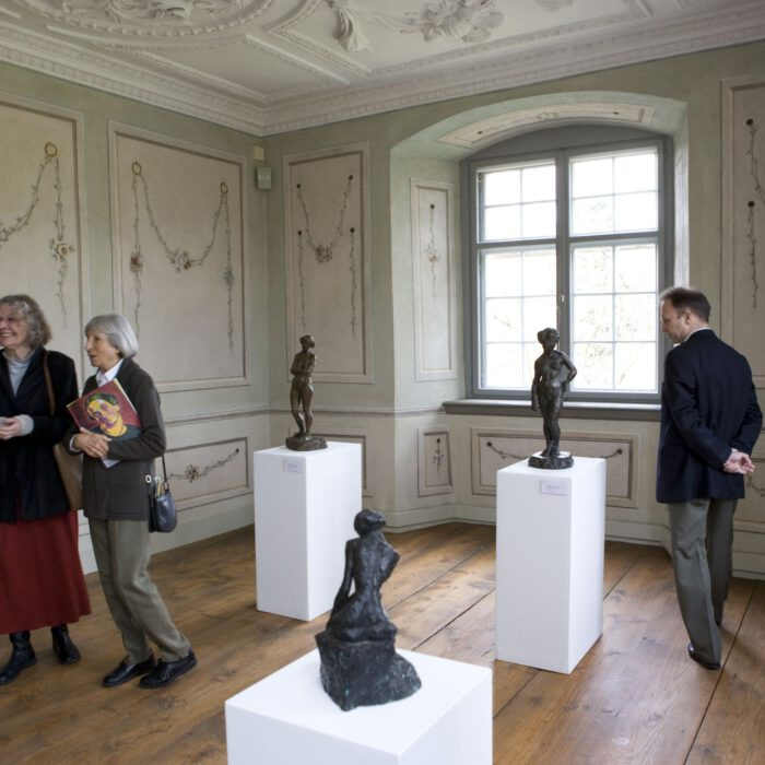 Besucher in Schloss Achberg, 2008
